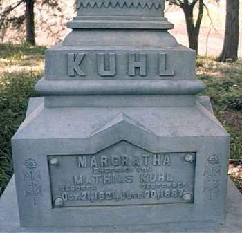 KUHL, MARGRATHA - Mills County, Iowa | MARGRATHA KUHL
