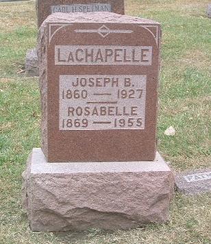 LACHAPELLE, JOSEPH B. - Mills County, Iowa | JOSEPH B. LACHAPELLE