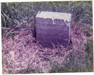 THOMPSON, LAVINA - Mills County, Iowa | LAVINA THOMPSON