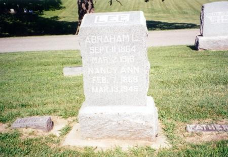 LEE, ABRAHAM - Mills County, Iowa | ABRAHAM LEE