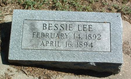 LEE, BESSIE - Mills County, Iowa | BESSIE LEE