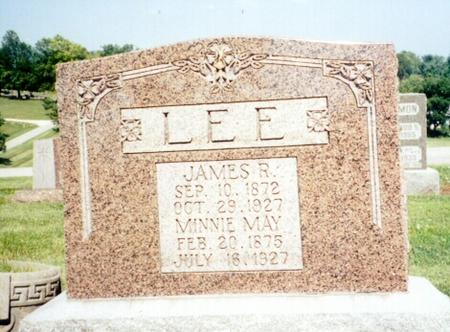 LEE, MINNIE - Mills County, Iowa | MINNIE LEE