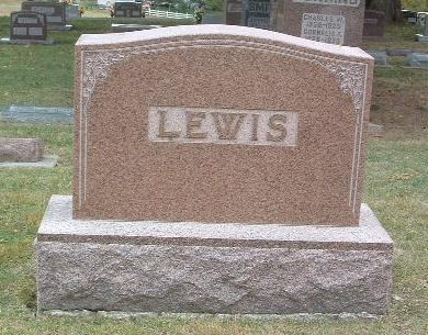 LEWIS, FAMILY HEADSTONE - Mills County, Iowa | FAMILY HEADSTONE LEWIS