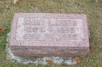 LEWIS, MARY L. - Mills County, Iowa | MARY L. LEWIS