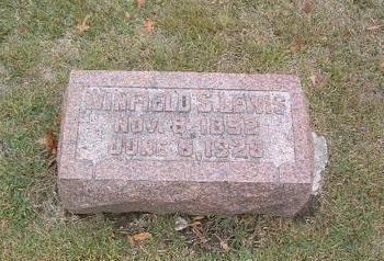 LEWIS, WINFIELD S. - Mills County, Iowa   WINFIELD S. LEWIS