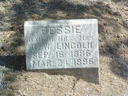 LINCOLN, BESSIE - Mills County, Iowa | BESSIE LINCOLN