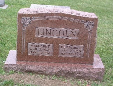 LINCOLN, MARGARET - Mills County, Iowa | MARGARET LINCOLN