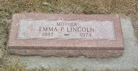 LINCOLN, EMMA P. - Mills County, Iowa | EMMA P. LINCOLN