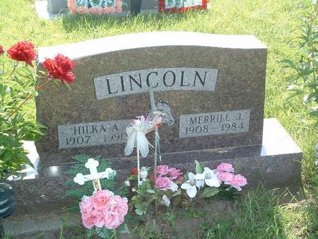 LINCOLN, HILKA A. - Mills County, Iowa | HILKA A. LINCOLN