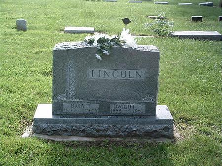 LINCOLN, DWIGHT F. - Mills County, Iowa | DWIGHT F. LINCOLN