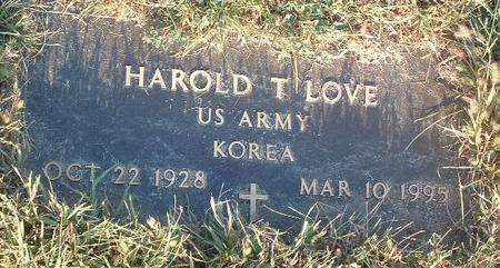 LOVE, HAROLD T. - Mills County, Iowa | HAROLD T. LOVE
