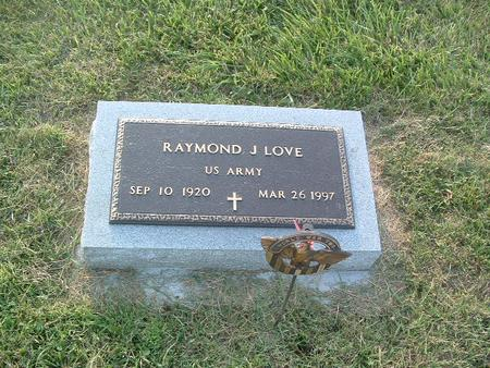 LOVE, RAYMOND J. - Mills County, Iowa | RAYMOND J. LOVE
