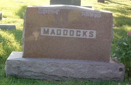 MADDOCKS, FAMILY HEADSTONE - Mills County, Iowa | FAMILY HEADSTONE MADDOCKS