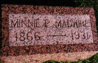 MAGUIRE AKA MAGWIRE, MINNIE PATIENCE - Mills County, Iowa | MINNIE PATIENCE MAGUIRE AKA MAGWIRE