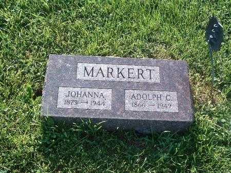 MARKERT, ADOLPH C. - Mills County, Iowa | ADOLPH C. MARKERT