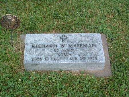 MASEMAN, RICHARD W. - Mills County, Iowa | RICHARD W. MASEMAN