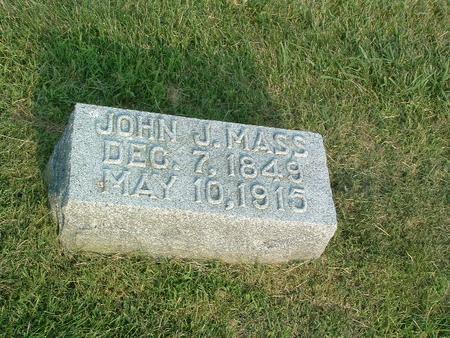 MASS, JOHN J. - Mills County, Iowa | JOHN J. MASS