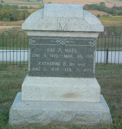 MASS, KAY D. - Mills County, Iowa | KAY D. MASS