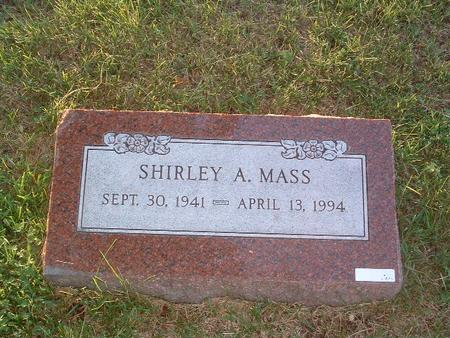 MASS, SHIRLEY A. - Mills County, Iowa | SHIRLEY A. MASS