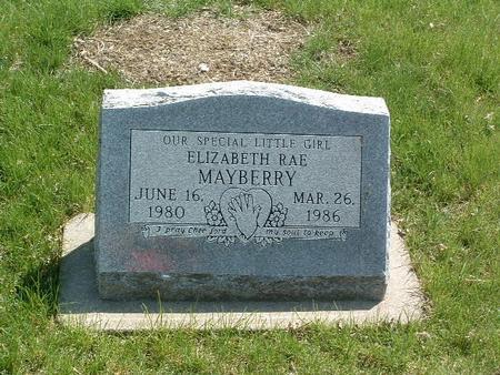 MAYBERRY, ELIZABETH RAE - Mills County, Iowa | ELIZABETH RAE MAYBERRY