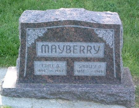 MAYBERRY, SHIRLEY D. - Mills County, Iowa | SHIRLEY D. MAYBERRY