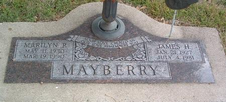 MAYBERRY, JAMES H. - Mills County, Iowa | JAMES H. MAYBERRY