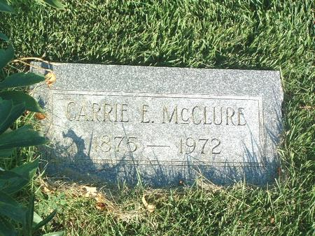 MCCLURE, CARRIE E. - Mills County, Iowa | CARRIE E. MCCLURE