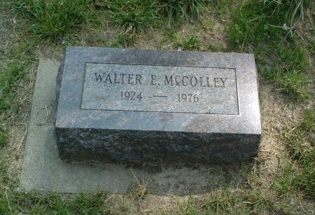 MCCOLLEY, WALTER E. - Mills County, Iowa | WALTER E. MCCOLLEY