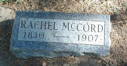 MCCORD, RACHEL - Mills County, Iowa | RACHEL MCCORD