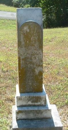 MCDOLE, SOPHIE G. - Mills County, Iowa   SOPHIE G. MCDOLE