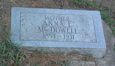 MCDOWELL, ANNA E. - Mills County, Iowa | ANNA E. MCDOWELL