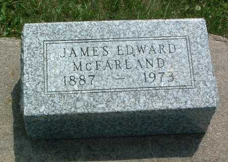MCFARLAND, JAMES EDWARD - Mills County, Iowa | JAMES EDWARD MCFARLAND