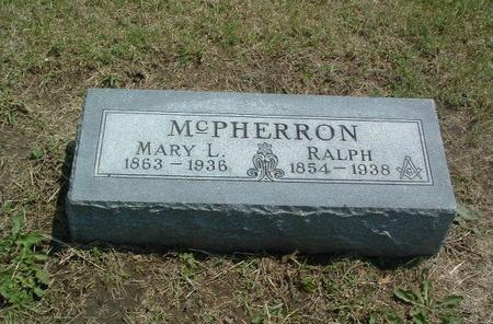 MCPHERRON, MARY L. - Mills County, Iowa | MARY L. MCPHERRON