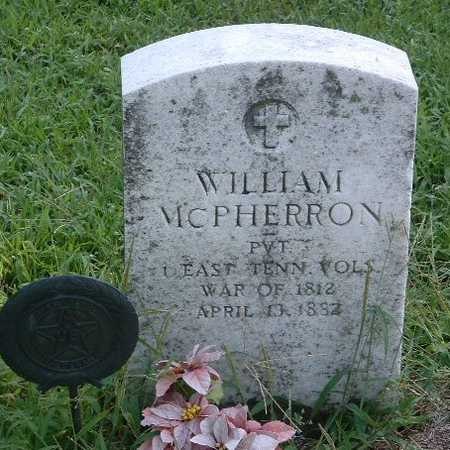 MCPHERRON, WILLIAM - Mills County, Iowa | WILLIAM MCPHERRON