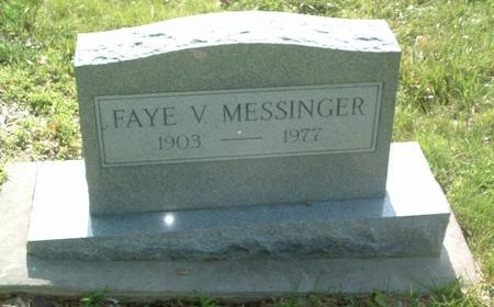 MESSINGER, FAYE V. - Mills County, Iowa | FAYE V. MESSINGER