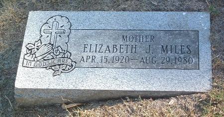 MILES, ELIZABETH J. - Mills County, Iowa | ELIZABETH J. MILES
