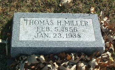 MILLER, THOMAS H. - Mills County, Iowa | THOMAS H. MILLER