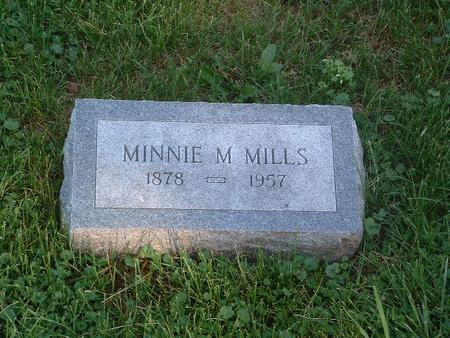 MILLS, MINNIE M. - Mills County, Iowa | MINNIE M. MILLS