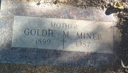 MINER, GOLDIE M. - Mills County, Iowa | GOLDIE M. MINER