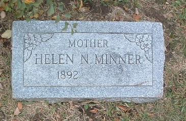 MINNER, HELEN N. - Mills County, Iowa | HELEN N. MINNER