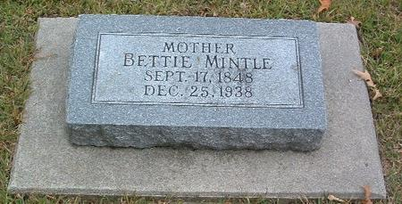 MINTLE, BETTIE - Mills County, Iowa | BETTIE MINTLE