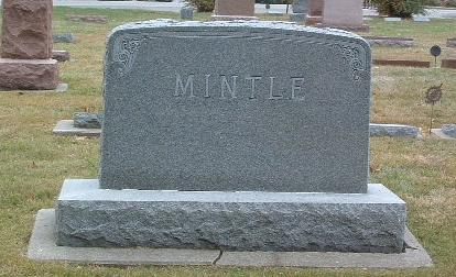 MINTLE, FAMILY HEADSTONE - Mills County, Iowa | FAMILY HEADSTONE MINTLE
