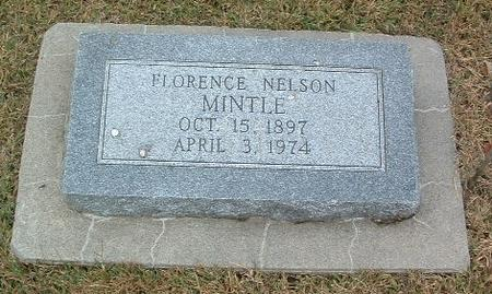 NELSON MINTLE, FLORENCE - Mills County, Iowa | FLORENCE NELSON MINTLE