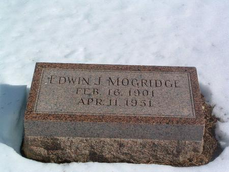 MOGRIDGE, EDWIN J. - Mills County, Iowa | EDWIN J. MOGRIDGE