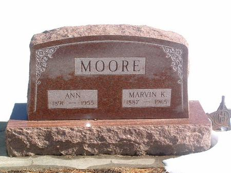 MOORE, MARVIN K. - Mills County, Iowa | MARVIN K. MOORE
