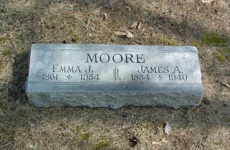 MOORE, EMMA J. - Mills County, Iowa | EMMA J. MOORE