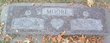 MOORE, HAZEL A. - Mills County, Iowa | HAZEL A. MOORE