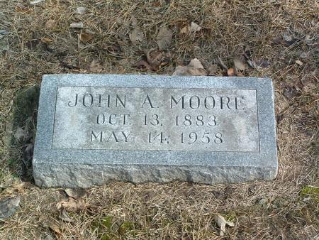 MOORE, JOHN A. - Mills County, Iowa | JOHN A. MOORE