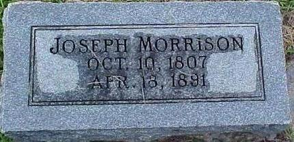 MORRISON, JOSEPH - Mills County, Iowa | JOSEPH MORRISON