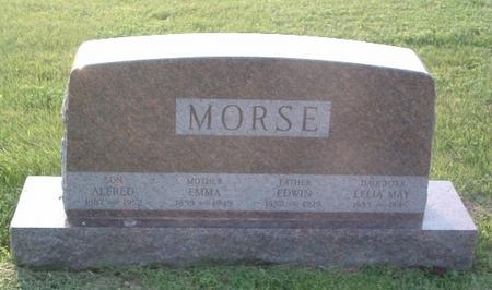 MORSE, LELIA MAY - Mills County, Iowa | LELIA MAY MORSE